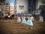 Bailando con caballo