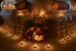 Reading at the Pagoda
