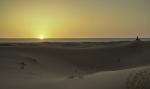 Amanecer en el desierto