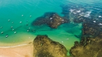 Playa en Itacimirim Bahia Brasil