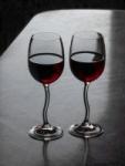 2 copas de vino