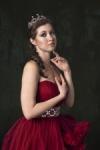 Olga in Red